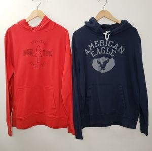 Burton & American Eagle Outfitters Hoodie Size M